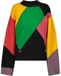 Palm Angels X Missoni – Pull en laine mélangée - Multicolore