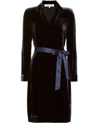 Diane von Furstenberg Vestido wrap New Jeanne - Negro