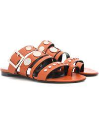 Pierre Hardy - Dani Leather Sandals - Lyst