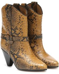 Isabel Marant Deane Boot - Yellow