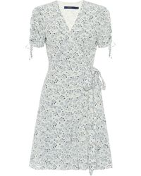 Polo Ralph Lauren Exclusive To Mytheresa – Floral Crêpe Wrap Dress - White