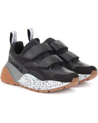 Stella McCartney Sneakers Gomma aus Leder - Schwarz