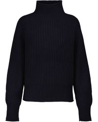 Jardin Des Orangers Ribbed-knit Cashmere Turtleneck Sweater - Blue