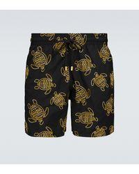 Vilebrequin Mistral 1996 Gilbert Tropic Swim Shorts - Black