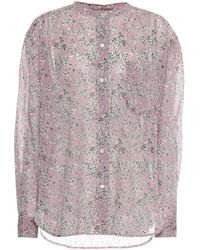 Étoile Isabel Marant Hemd Mexika aus Baumwolle - Pink