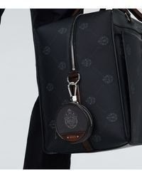 Berluti Globe Keyring Pouch - Black