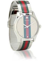 Gucci Uhr G-Timeless 42mm - Mettallic