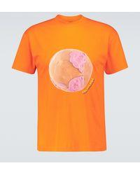 Jacquemus Camiseta Le T-shirt Monde - Naranja
