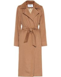 Max Mara - Cappotto Manuela Icon in cammello - Lyst