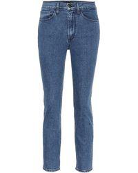 3x1 W4 High-rise Skinny Jeans - Blue