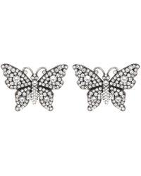 Gucci - Butterfly Earrings - Lyst