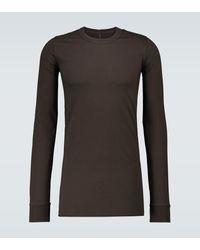 Rick Owens T-shirt manches longues en coton - Multicolore