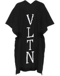 Valentino - Vltn Virgin Wool Poncho - Lyst