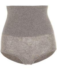 Khaite Shorts Belinda - Grau