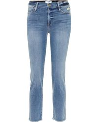 FRAME Le High Straight Jeans - Multicolor