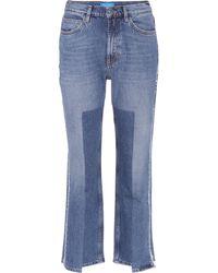 M.i.h Jeans - Jeans Jeanne mit Distressed-Partien - Lyst