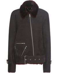 Public School - Exclusive To Mytheresa.com – Cavallo Shearling-lined Suede Jacket - Lyst