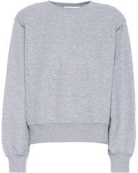 Frankie Shop Sweatshirt Vanessa aus Baumwolle - Grau