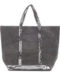 Vanessa Bruno - Cabas Medium Linen Shopper - Lyst
