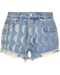 Loewe Paula's Ibiza Jeansshorts - Blau
