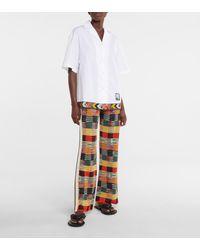 Palm Angels X Missoni – Chemise à logo en coton - Blanc