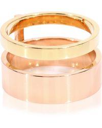 Repossi Exklusiv bei Mytheresa – Ring Berbere aus 18kt Rosé- und Gelbgold - Mettallic