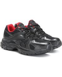 Vetements X Reebok Spike Runner 200 Sneakers - Black