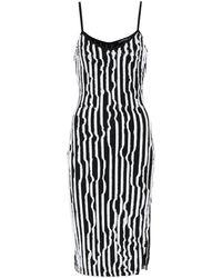 Y. Project Stretch-jersey Dress - Black
