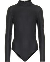 Tibi Scuba Bodysuit - Black