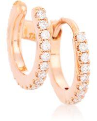 Maria Tash - Diamond Eternity Ring And Cuff 18kt Rose Gold Single Earring - Lyst