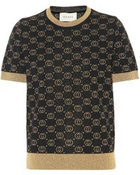 Gucci Jersey GG en mezcla de lana - Negro