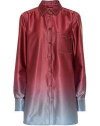 Sies Marjan - Hemd Sander aus Satin - Lyst