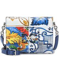 d10487bc9638 Dolce   Gabbana Dg Millennials Mini Shoulder Bag in Red - Lyst