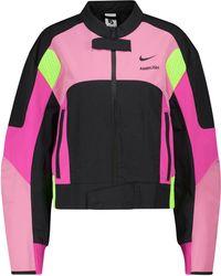 Nike X AMBUSH chaqueta motera - Rosa