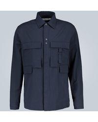 Craig Green Hemd aus Baumwoll-Seersucker - Blau