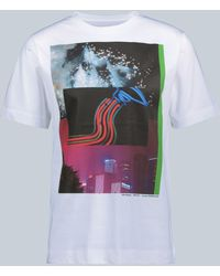 Dries Van Noten - Bedrucktes T-Shirt aus Baumwolle - Lyst
