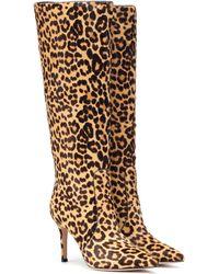 Gianvito Rossi - Hunter Calf Hair Boots - Lyst
