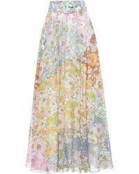 Zimmermann Falda larga Super Eight - Multicolor