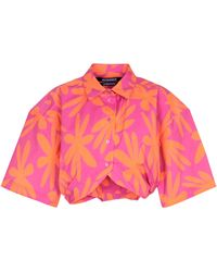 Jacquemus Camisa La Chemise Ballu mezcla de algodón - Rosa