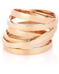 Repossi Anello Berbère Technical in oro rosa 18kt - Metallizzato