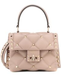 Valentino - Candystud Mini Leather Shoulder Bag - Lyst