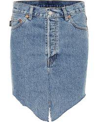 Vetements X Levi's® Denim Skirt - Blue