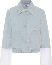 Loewe Denim Jacket - Blue