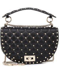 Valentino - Rockstud Spike Leather Crossbody Bag - Lyst