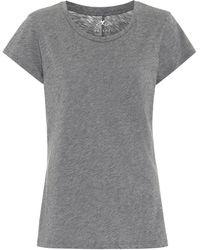 Velvet Camiseta Odelia en mezcla de algodón - Gris