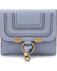 Chloé 'Marcie' Portemonnaie - Blau