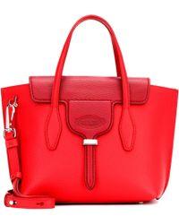 Tod's - Joy Mini Leather Shoulder Bag - Lyst