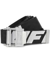 Off-White c/o Virgil Abloh Esclusiva Mytheresa - Cintura Industrial 2.0 in tessuto tecnico - Nero