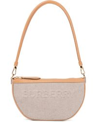 Burberry Schultertasche Olympia Pouch - Natur