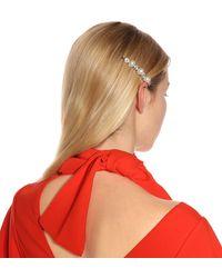 Simone Rocha Crystal-embellished Hair Clip - White